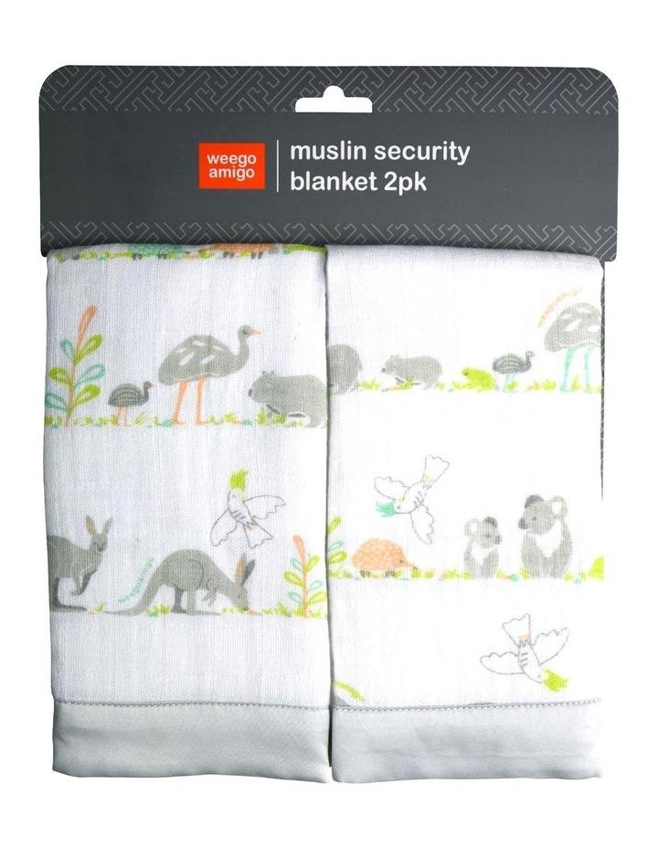 Weego Muslin Security Blanket 2pk - Aussie image 2