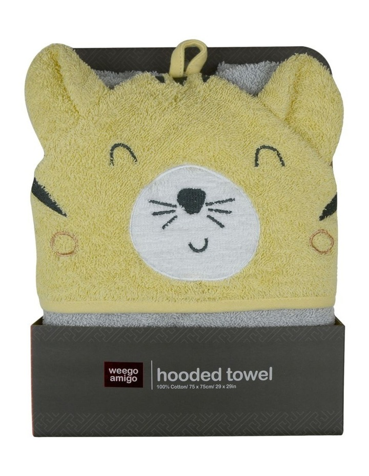 Colourplay Hooded Towel - Tiger image 1