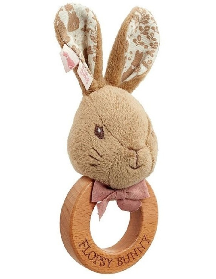Rattle: Signature Flopsy Wooden image 1
