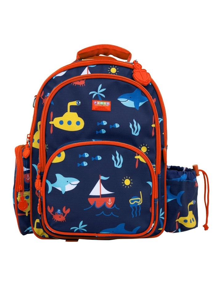 Backpack large- Anchors Away image 1
