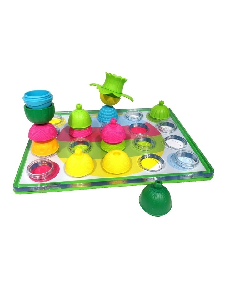 Lalaboom:  Peg Board with 20 pieces Beads image 2