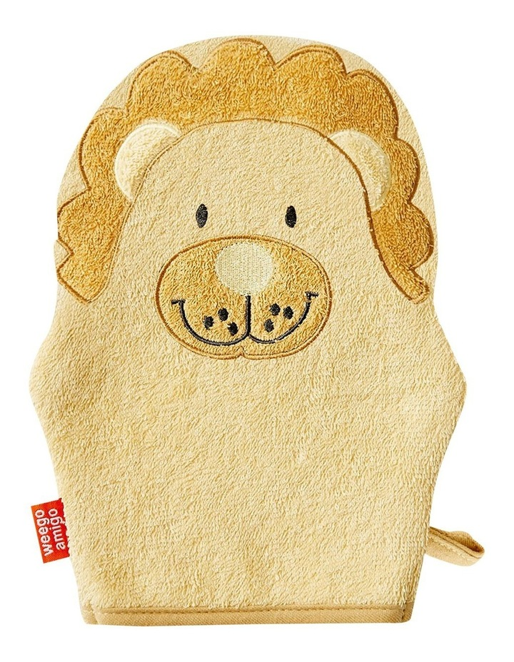 Weegoamigo Colourplay Bath Mitt - Lion image 1