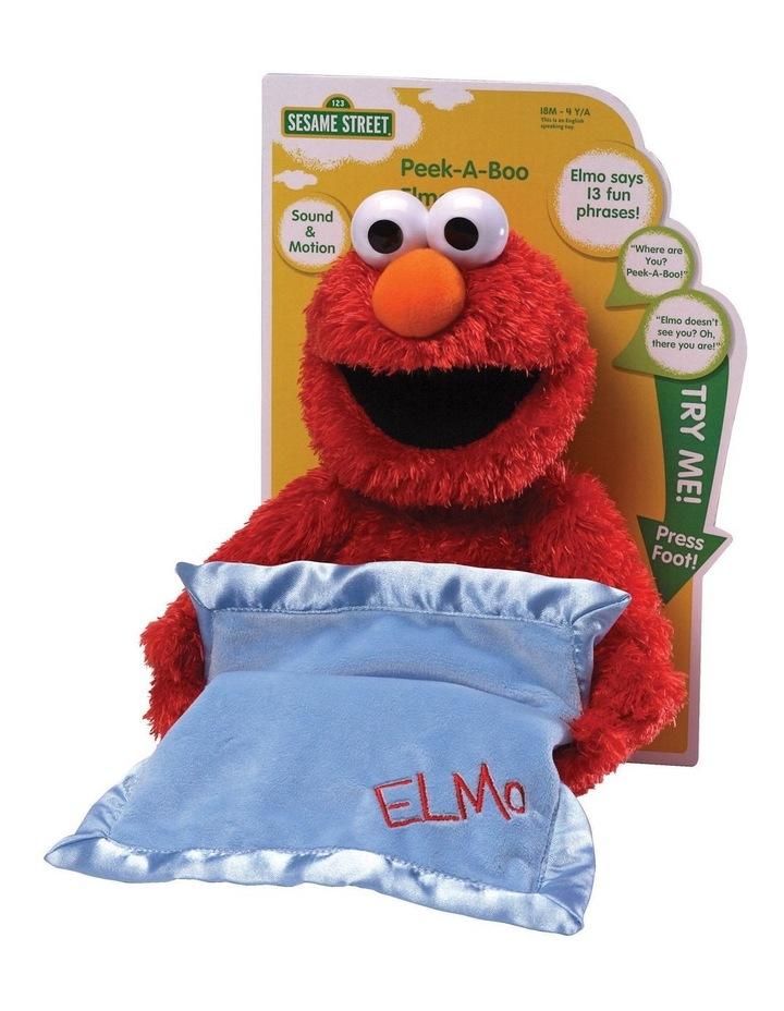 Animated Peek-a-Boo Elmo image 1