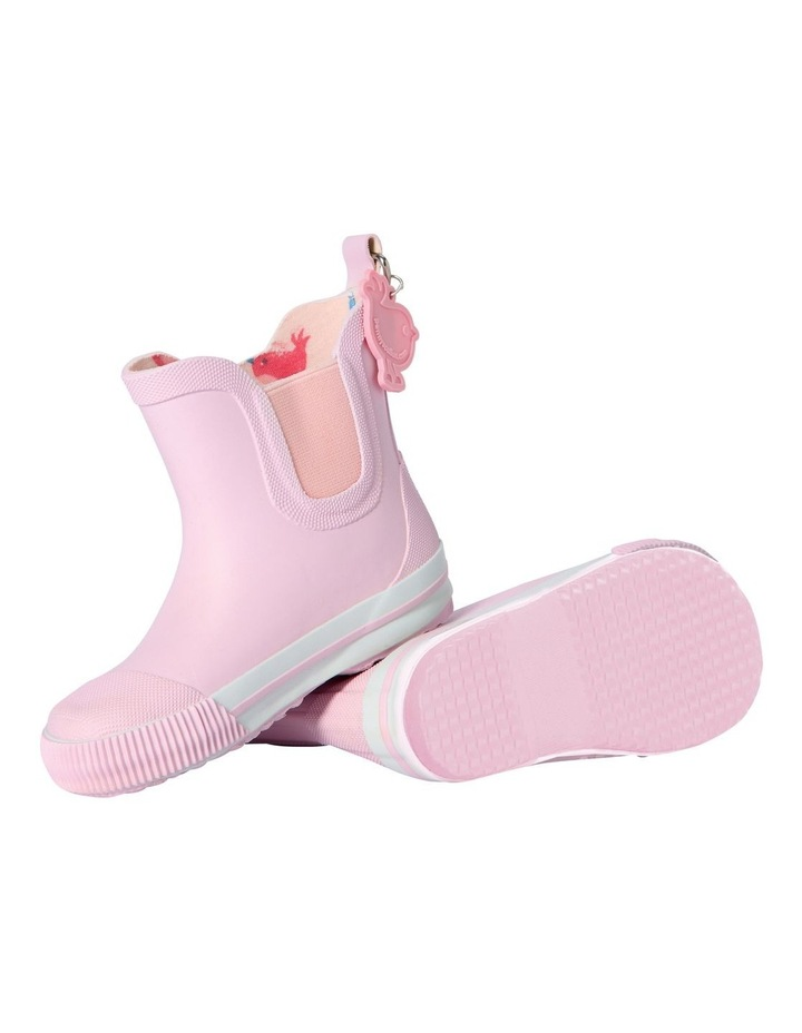 Chirpy Bird Pink Gumboot image 1