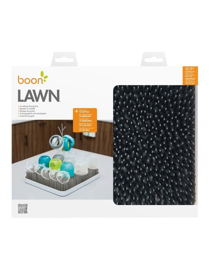 Boon LAWN Countertop Drying Rack - Stormy Gray image 1