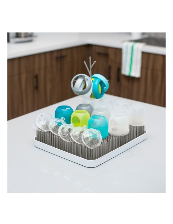 Boon LAWN Countertop Drying Rack - Stormy Gray image 3