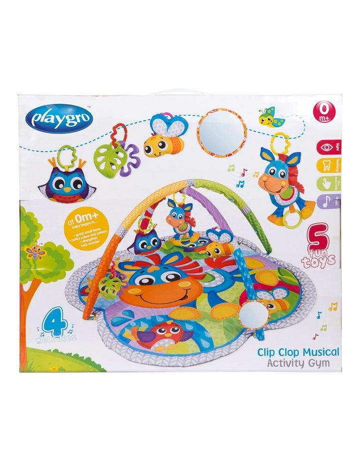 Clip Clop Activity Gym with Music image 3