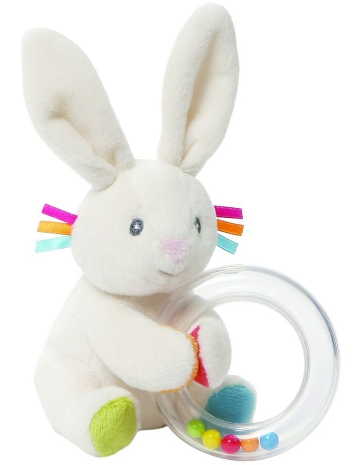 Flora Bunny Rattle image 1