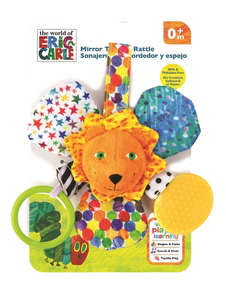 The Very Hungry Caterpillar Mirror Teether Rattle Suitable From Birth