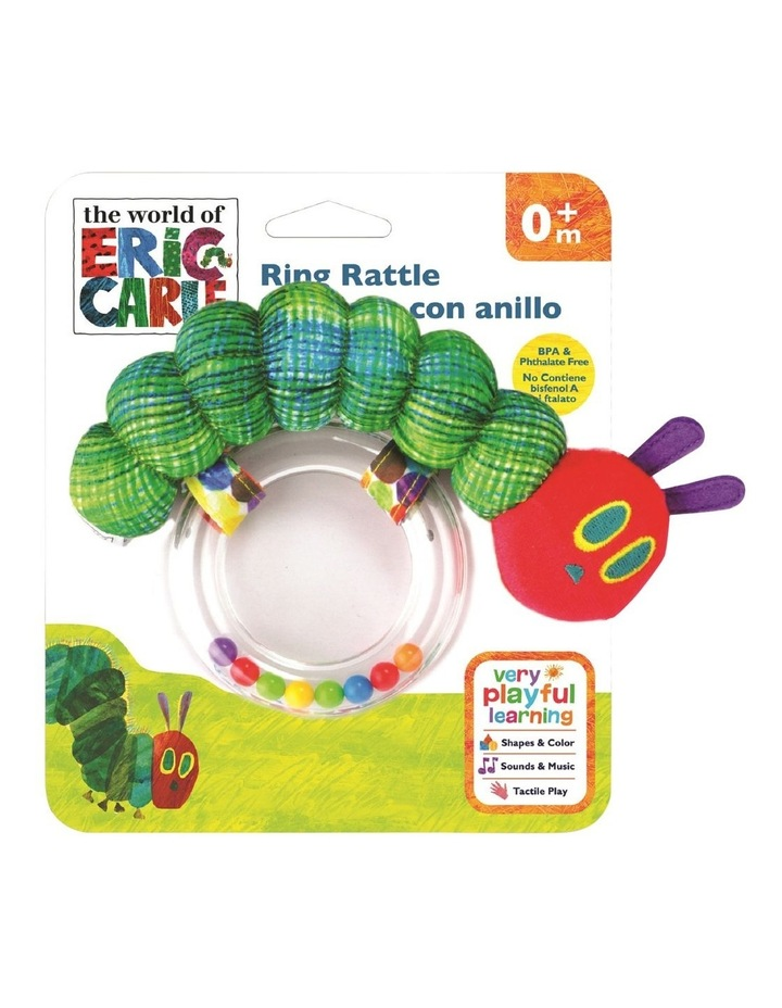 VERY HUNGRY CATERPILLAR RING RATTLE image 1