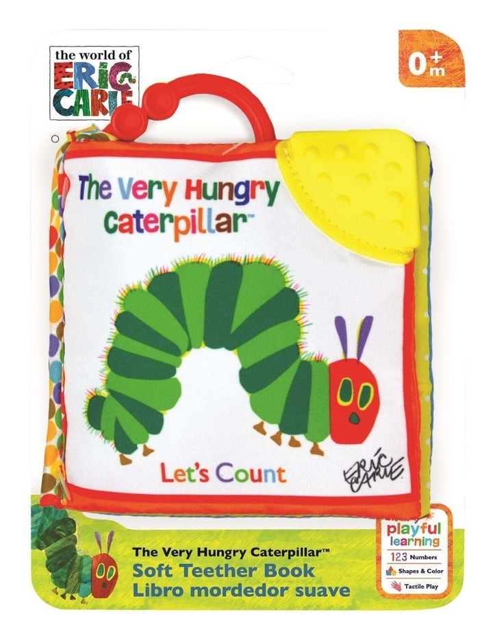 THE VERY HUNGRY CATERPILLAR 'LET'S COUNT' CLIP-ON SOFT BOOK image 1