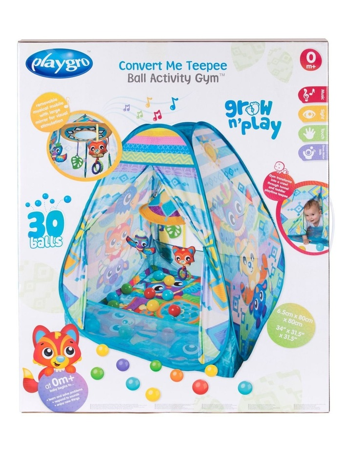 Convert Me Teepee Ball Activity Gym image 4