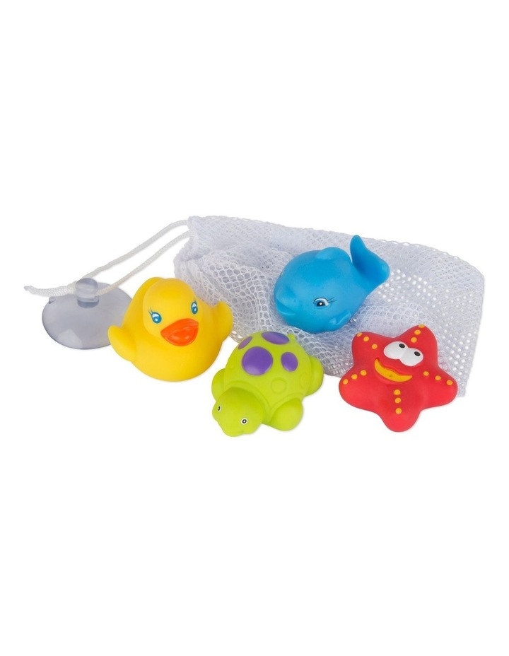 Floating Friends Bath Fun And Storage Set - Fully Sealed image 1