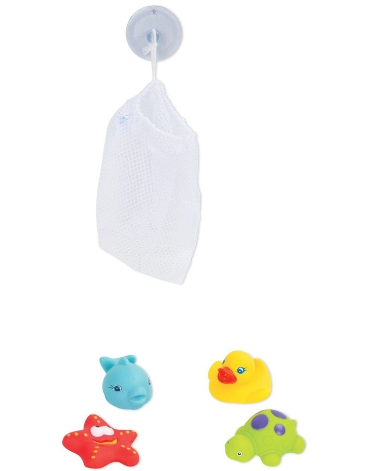 Floating Friends Bath Fun And Storage Set - Fully Sealed image 3