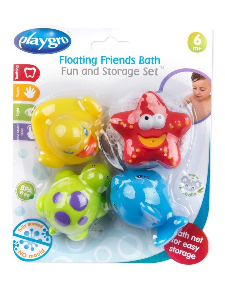 Floating Friends Bath Fun And Storage Set - Fully Sealed image 5