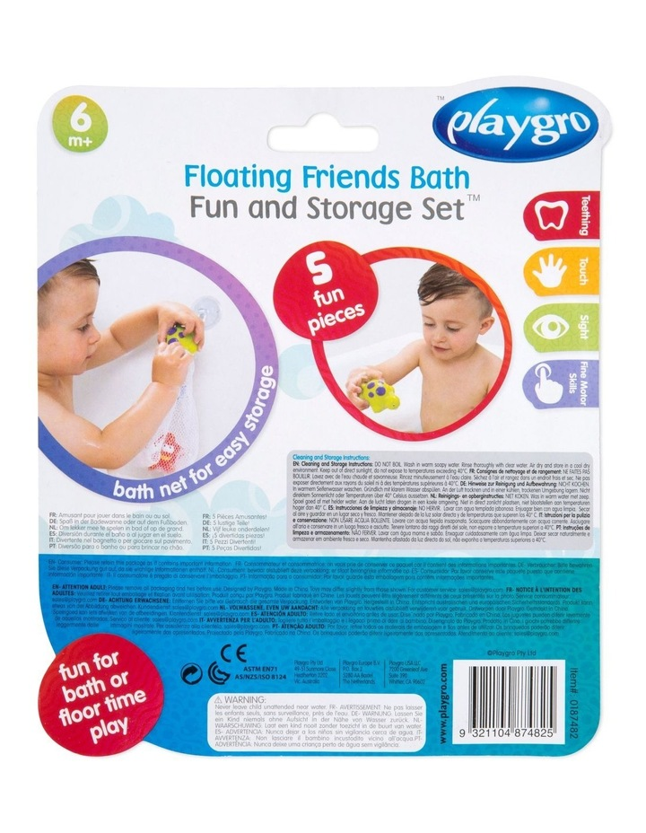 Floating Friends Bath Fun And Storage Set - Fully Sealed image 6