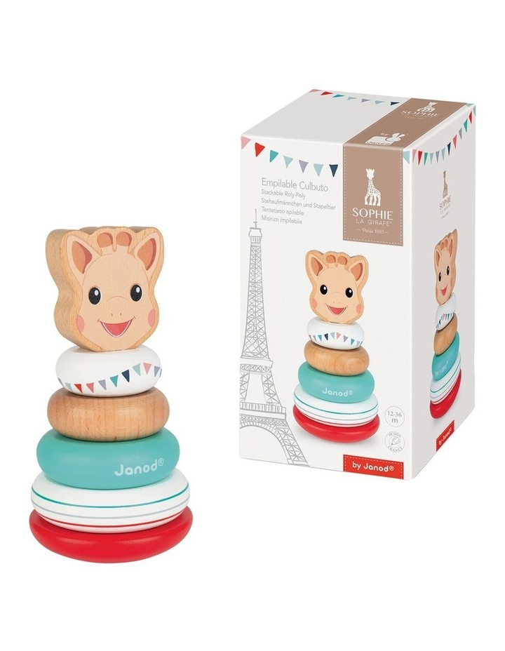 Wooden Stacker Roly Poly image 1