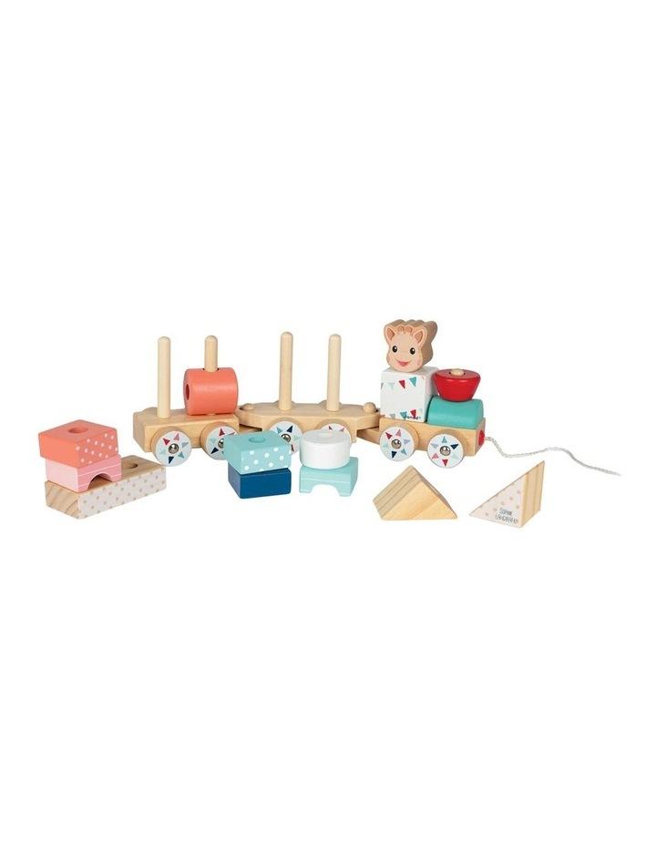 Wooden Puzzle Train image 2