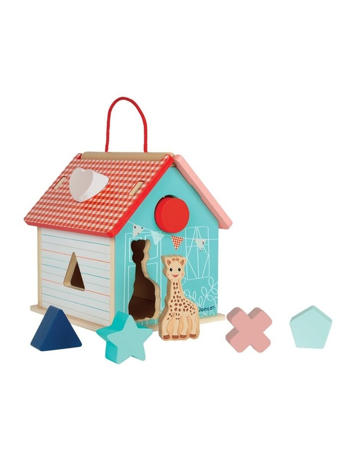 Wooden Shape Sorting House image 1