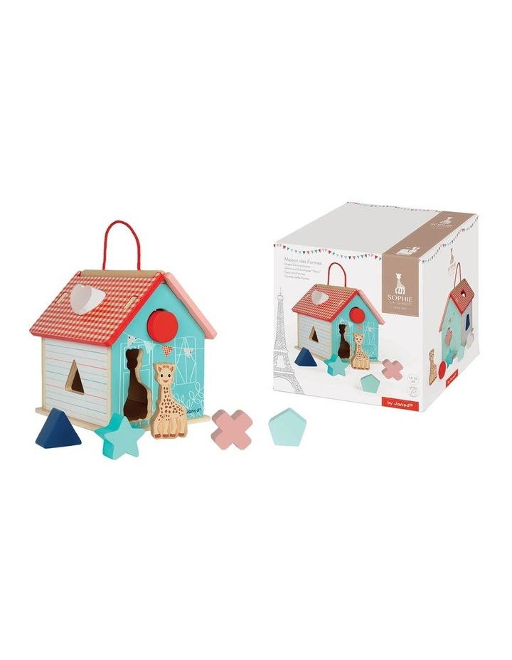 Wooden Shape Sorting House image 2