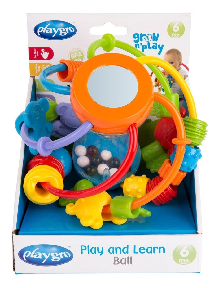 Playgro Play and Learn Ball image 3