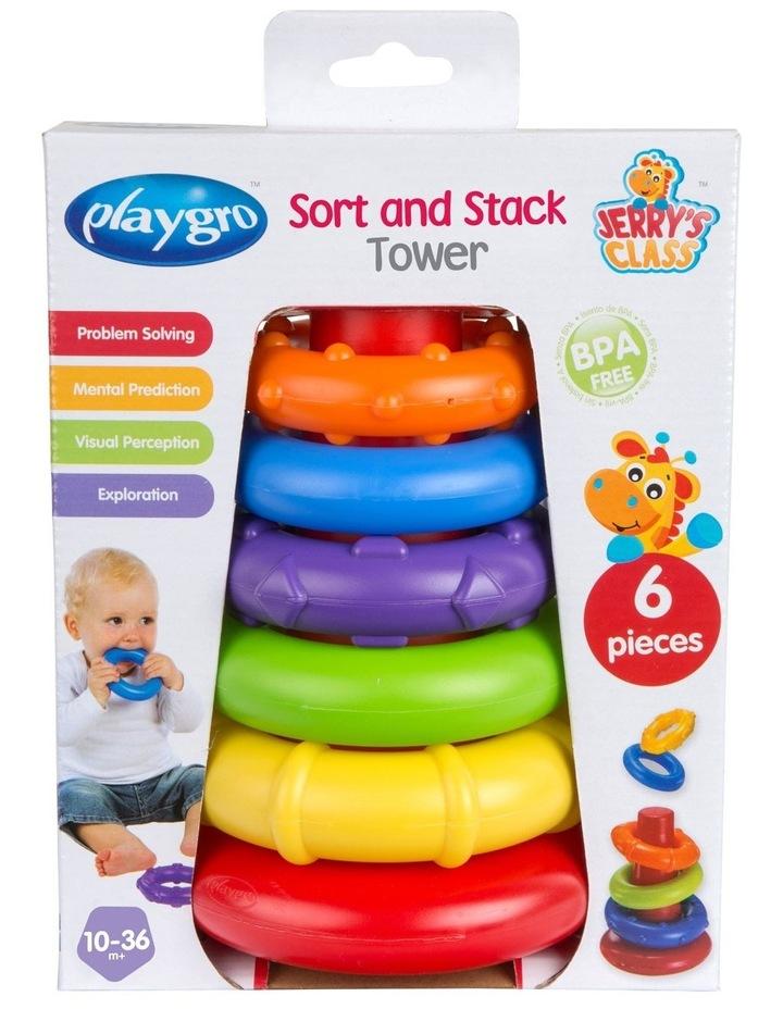 Playgro Sort & Stack Tower image 4