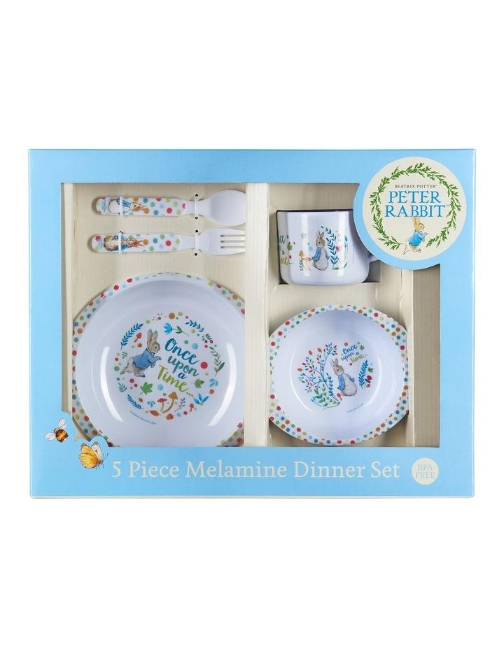 Classic Peter Rabbit:  5 Piece Dinner Set image 1