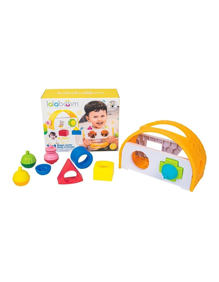 Shape Sorter & 8 Pieces Beads image 2