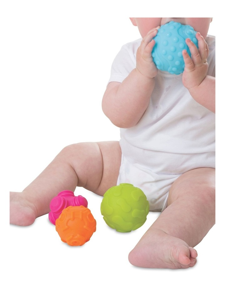 Textured Sensory Balls 4 Pack image 2