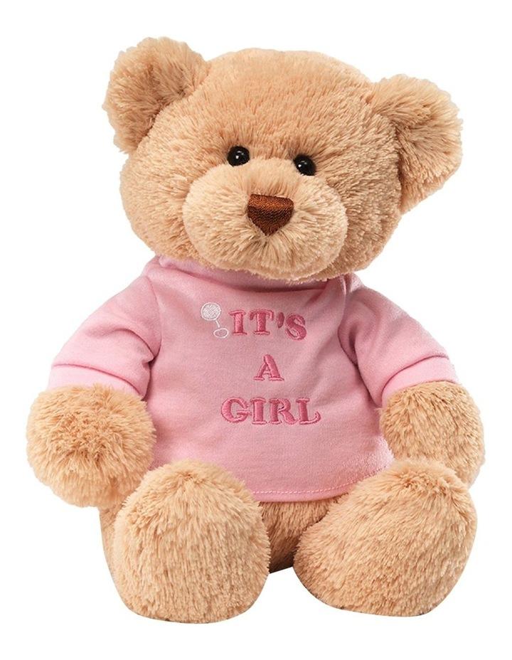 Message Bear It's A Girl (Pink T-Shirt) image 1
