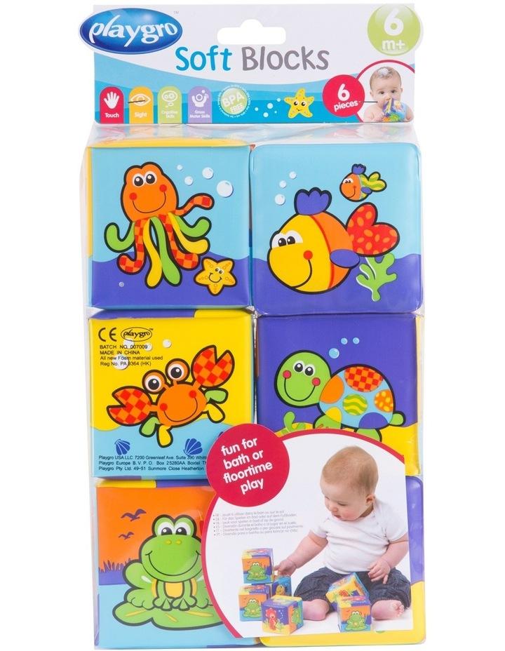 Bath Soft Cubes 6pack 0181170 image 1
