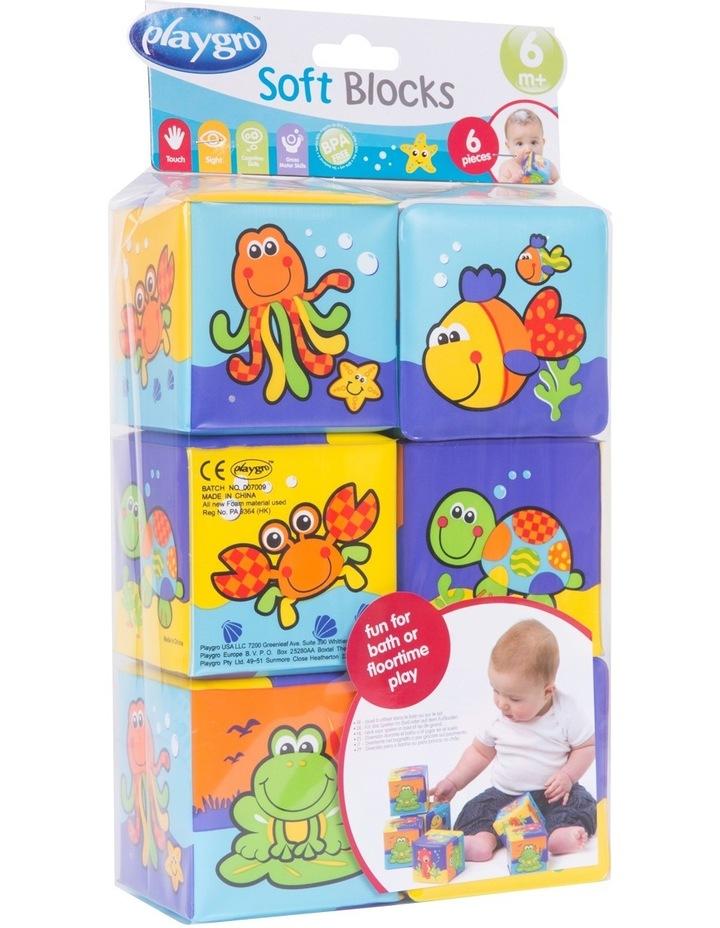 Bath Soft Cubes 6pack 0181170 image 2