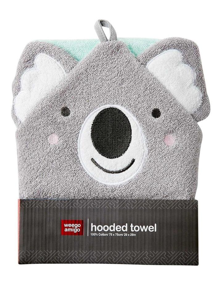 Colourplay Hooded Towel - Koala image 1