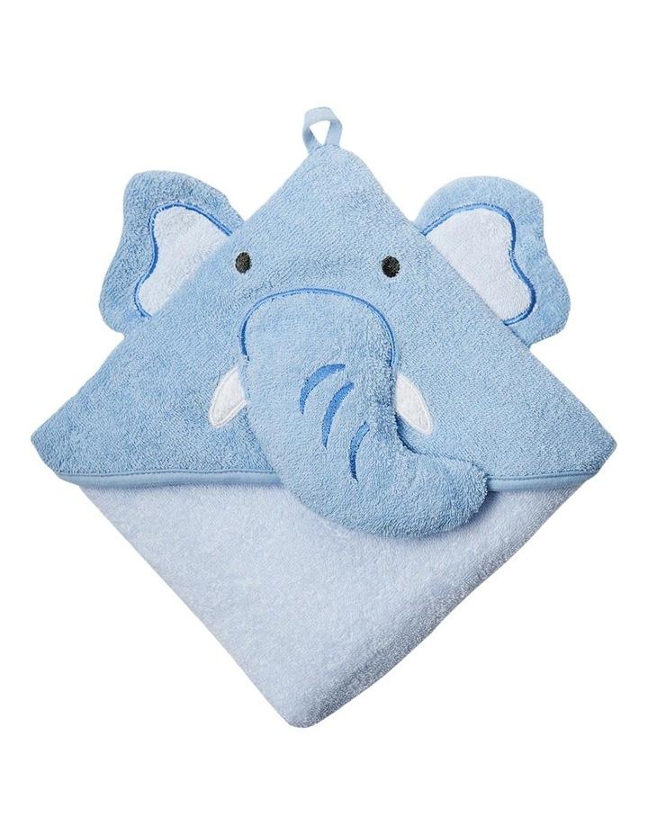 Colourplay Hooded Towel - Elephant image 2
