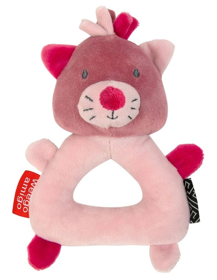 Colourplay Plush Rattle  - Kitten image 1