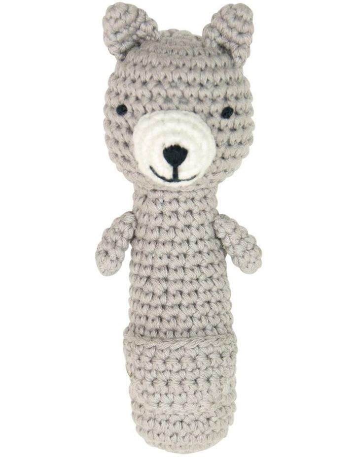 Crochet Rattle - Kangaroo image 1