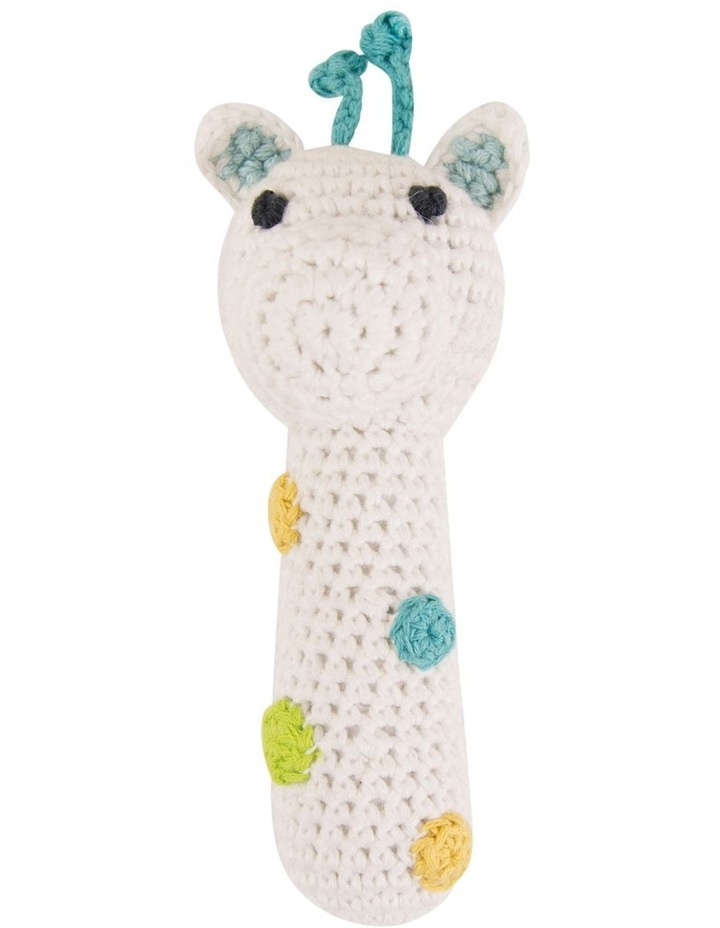 Crochet Rattle - Giraffe image 1