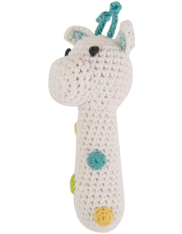 Crochet Rattle - Giraffe image 2
