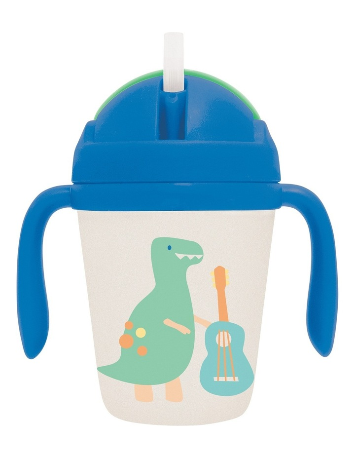 Bamboo Sippy Cup Dino Rock image 1
