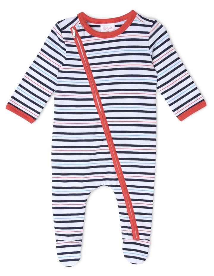 Essential Stripe Coverall image 1
