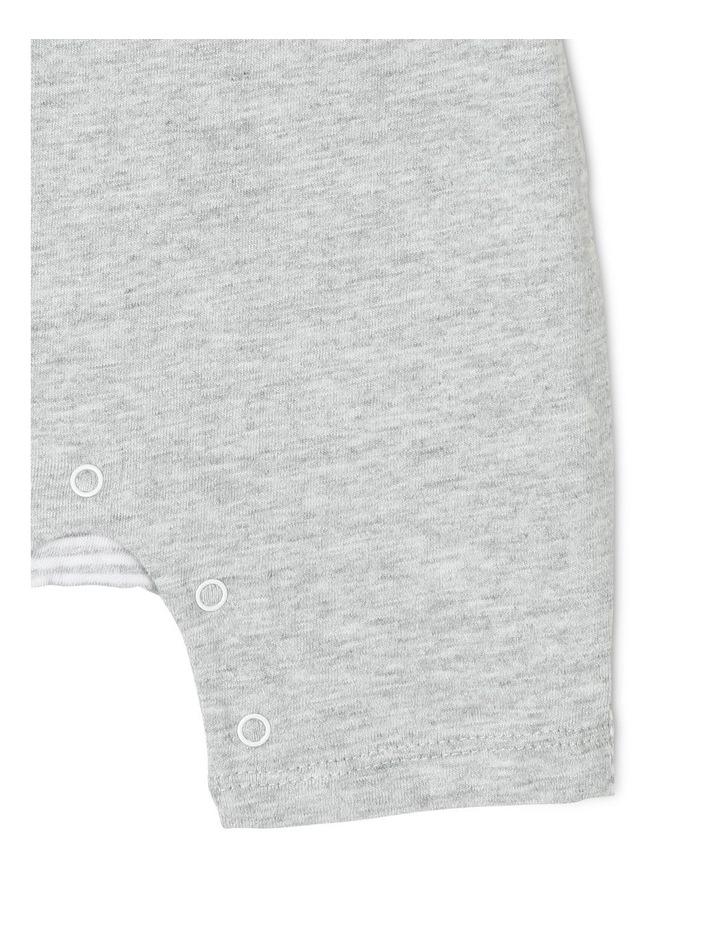 Unisex Xmas Romper - Grey image 3