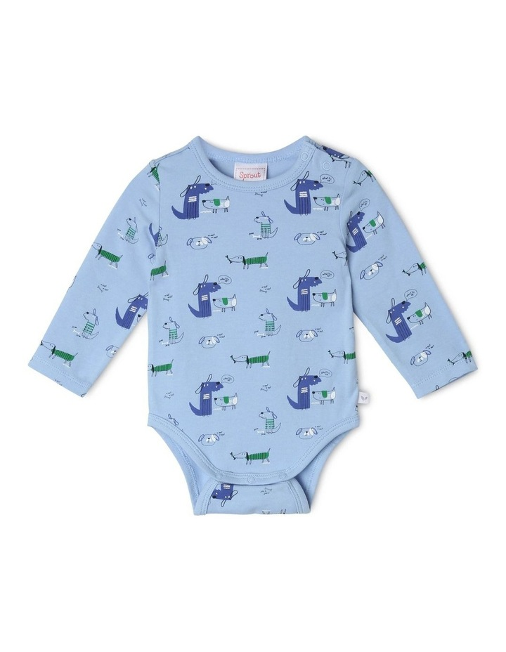 Essential Blue Bodysuit image 1
