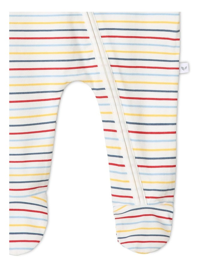 Boys Essential Striped Coverall image 3