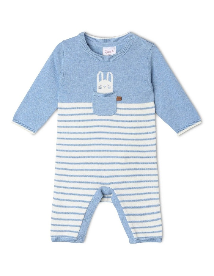Bunny Pocket Knit Coverall image 1