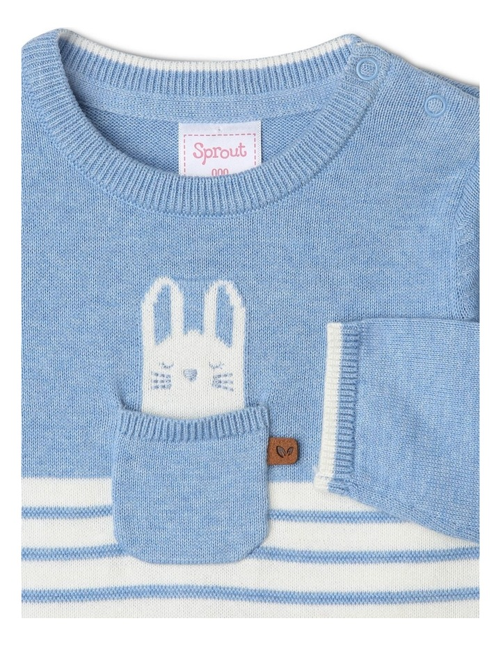 Bunny Pocket Knit Coverall image 2