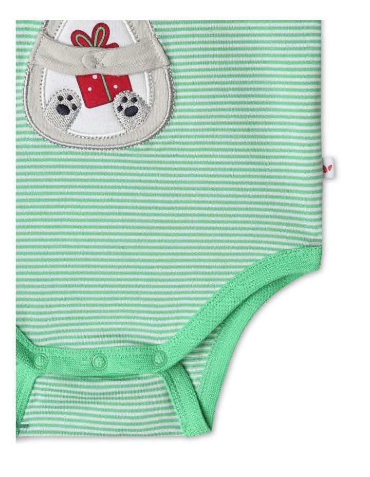 Xmas 3D Koala Giving Bodysuit image 4