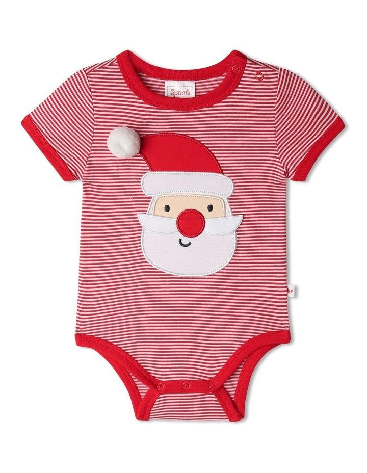 Xmas 3D Santa Bodysuit image 1