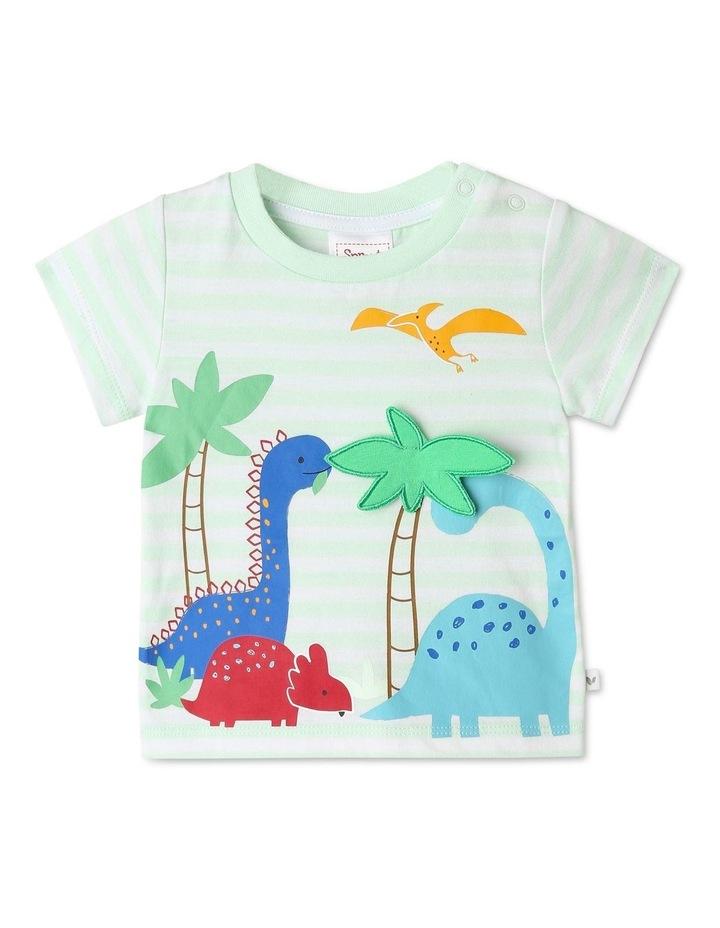 3D Dinoscape Stripe T/Shirt image 1