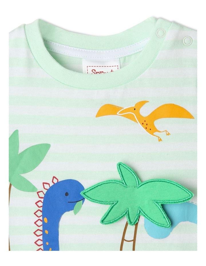 3D Dinoscape Stripe T/Shirt image 2
