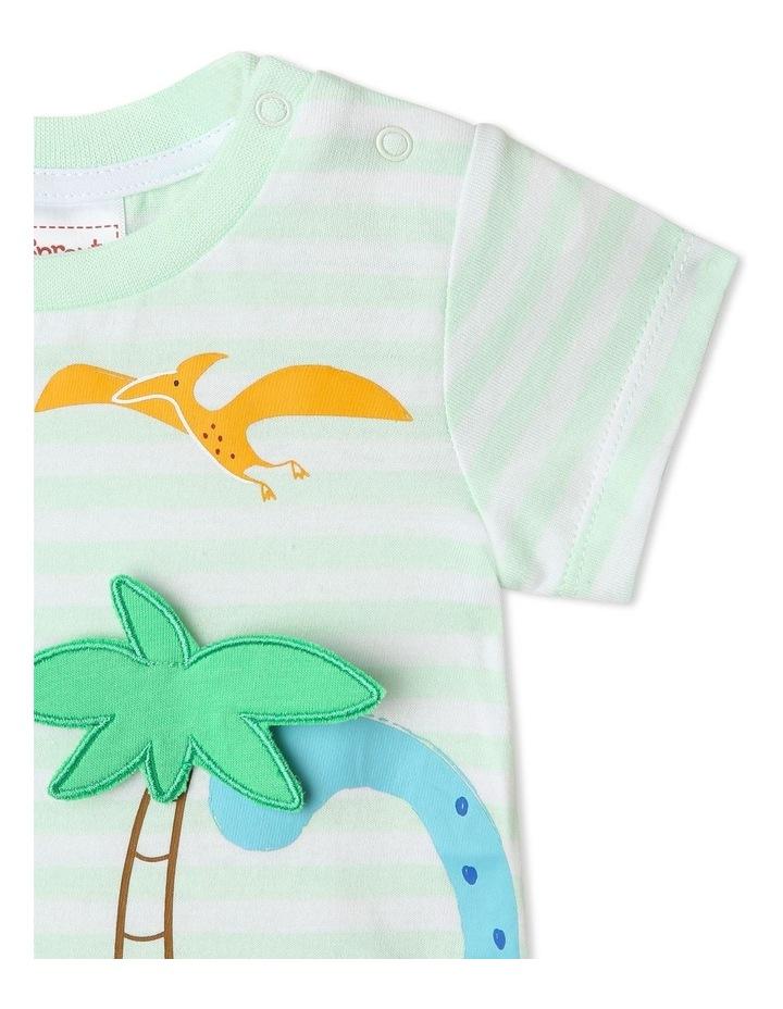 3D Dinoscape Stripe T/Shirt image 4